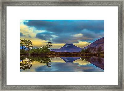 Stac Polly In The Scottish Highlands Framed Print by Tylie Duff
