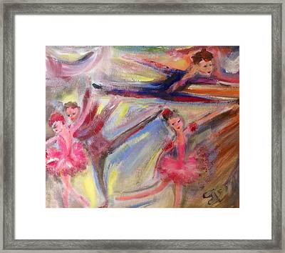 Staccato Framed Print by Judith Desrosiers