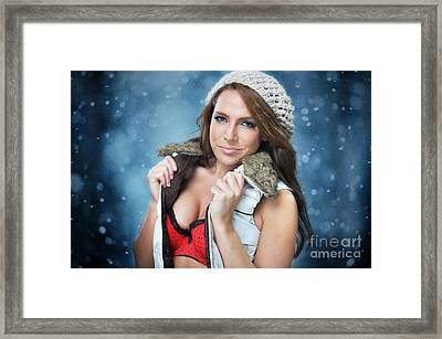 Stacey1 Framed Print by Yhun Suarez