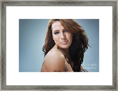 Stacey9 Framed Print by Yhun Suarez