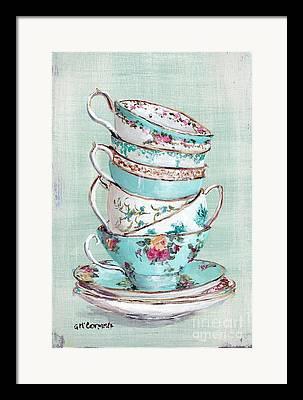 Tea Rose Framed Prints