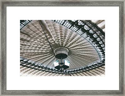 Stadium Ceiling Framed Print by Pati Photography