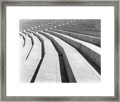 Stadium, Mexico City, 1927 Framed Print by Tina Modotti
