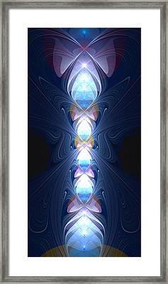Staff Of Light Framed Print