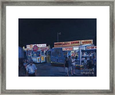 Stafford Night Framed Print by Deb Putnam