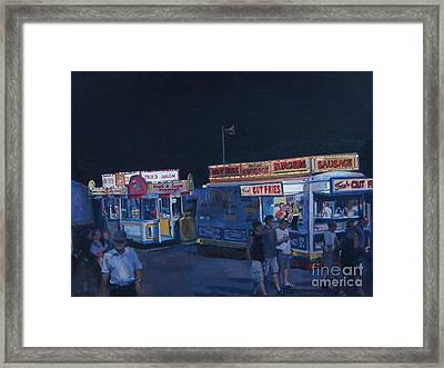Stafford Night Framed Print