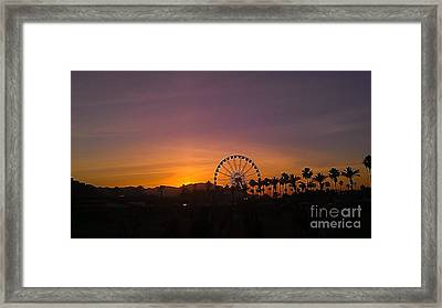 Stage Coach Framed Print by Chris Tarpening