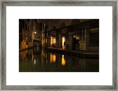 Framed Print featuring the photograph Stage Door by Marion Galt
