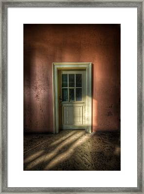 Stage Door Framed Print by Nathan Wright