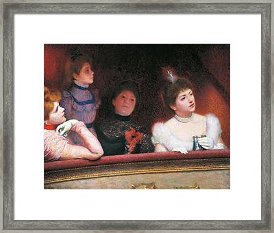 Stage Or Au Theatre Framed Print