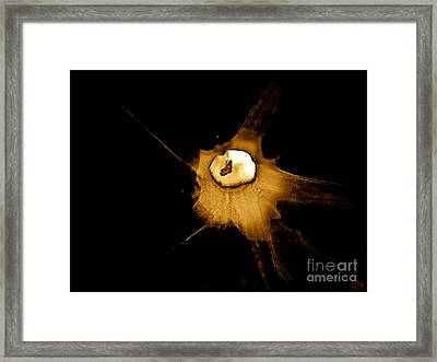 Staggered Instantaneous Sight Framed Print