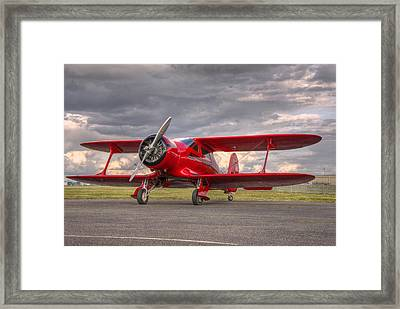 Staggerwing Framed Print