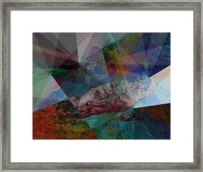 Stain Glass I Framed Print by David Bridburg