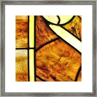 Stained Glass 2 Framed Print by Tom Druin