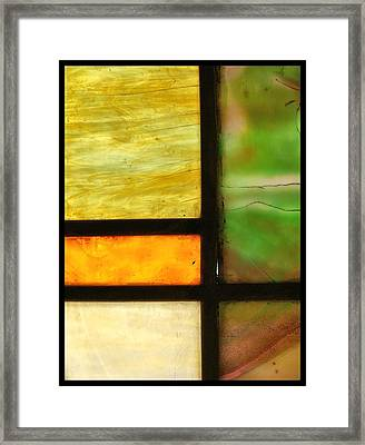 Stained Glass 5 Framed Print by Tom Druin