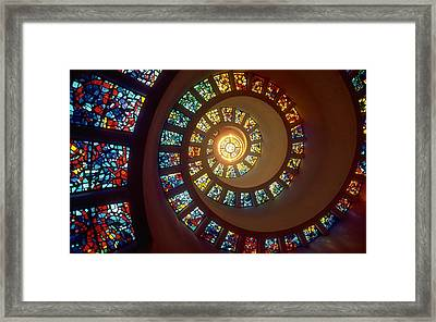 Stained Glass Framed Print by Gianfranco Weiss