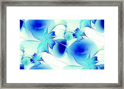 Stained Glass Framed Print by Anastasiya Malakhova