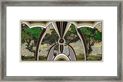 Stained Glass Collage Sgc1 Framed Print by Pemaro