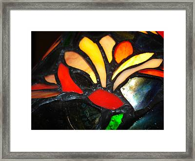 Stained Glass Five Framed Print