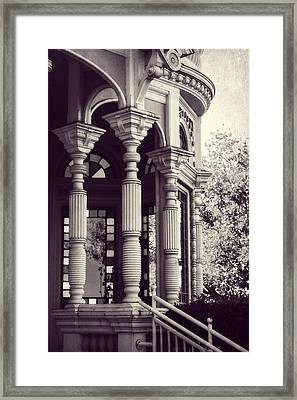 Stained Glass Memories Framed Print by Melanie Lankford Photography