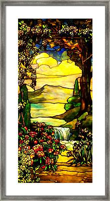 Stained Landscape 2 Framed Print
