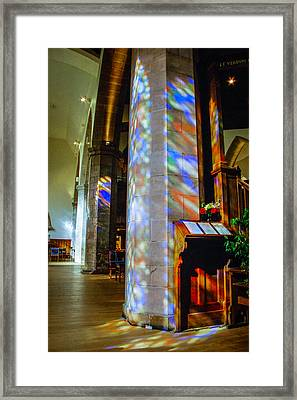Stained Light Framed Print