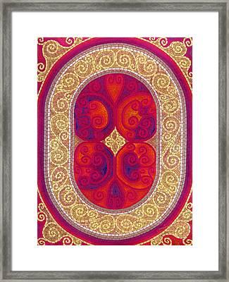 Stainglass Framed Print
