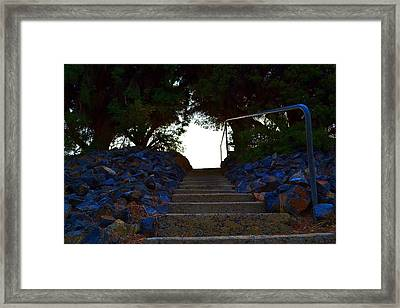 Framed Print featuring the photograph Stair Way To Heaven  by Naomi Burgess