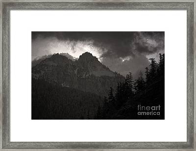 Staircase  Framed Print by C E Dyer