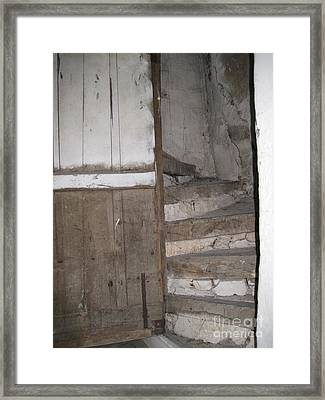 Framed Print featuring the photograph Staircase by HEVi FineArt