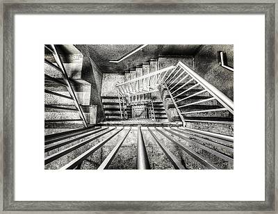 Staircase I Framed Print by Everet Regal