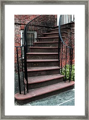 Staircase Framed Print by John Rizzuto