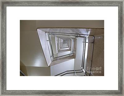 Staircase Framed Print by Oote Boe