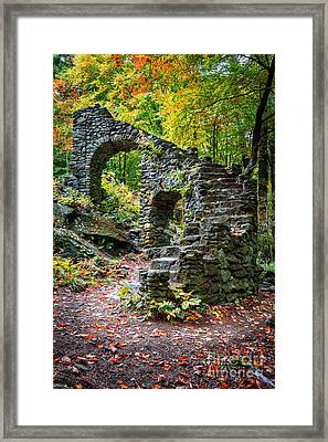 Accendance Framed Print by Edward Fielding