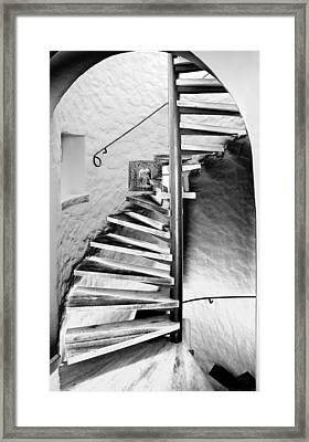 Staircase - Spiral Framed Print by Robert Culver