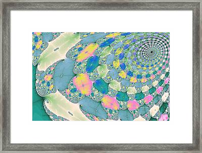 Staircase To Heaven Framed Print by Angela A Stanton