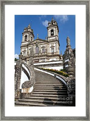 Staircase To Heaven Framed Print by Jose Elias - Sofia Pereira
