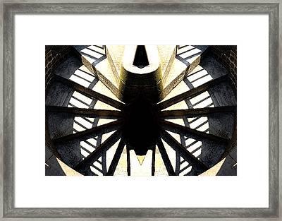 Staircase To Nowhere Framed Print by David Kehrli
