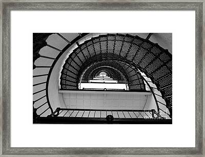 Framed Print featuring the photograph Stairs by Andrea Anderegg