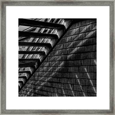Framed Print featuring the photograph Stairs by David Patterson