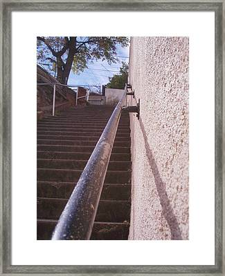 Stairs Framed Print by David S Reynolds