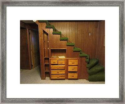 Stairs Framed Print by Denver Lukas