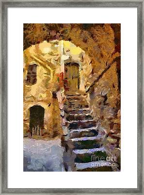 Stairs Framed Print by Dragica  Micki Fortuna