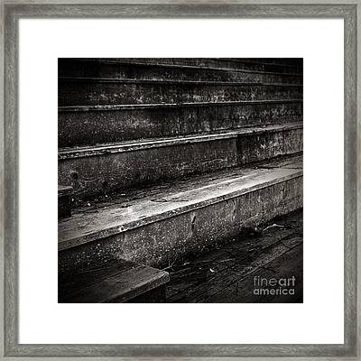 Stairs Infinity Framed Print by Charmian Vistaunet
