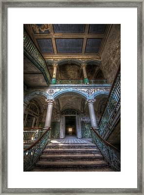 Stairs Of Beauty Framed Print by Nathan Wright