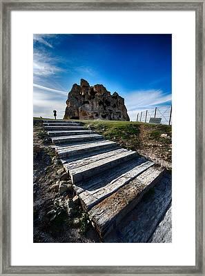 Stairs Framed Print by Okan YILMAZ