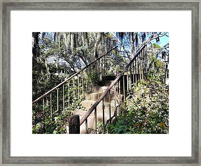 Stairs That Go Nowhere Framed Print