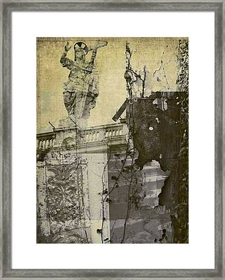 Stairs To Jesus Framed Print