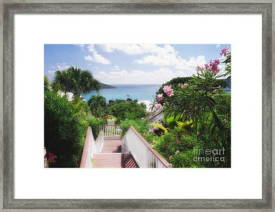 Stairs To Paradise Framed Print