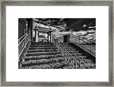 Stairway At Montgomery Museum Of Fine Arts Framed Print